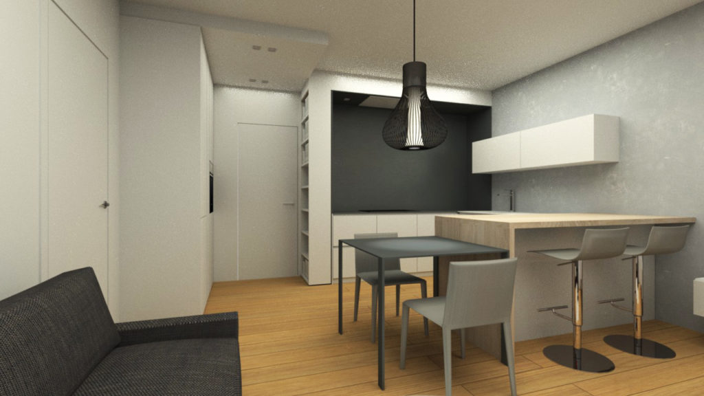 Rendering-cucina-con-isola-design-iStyle