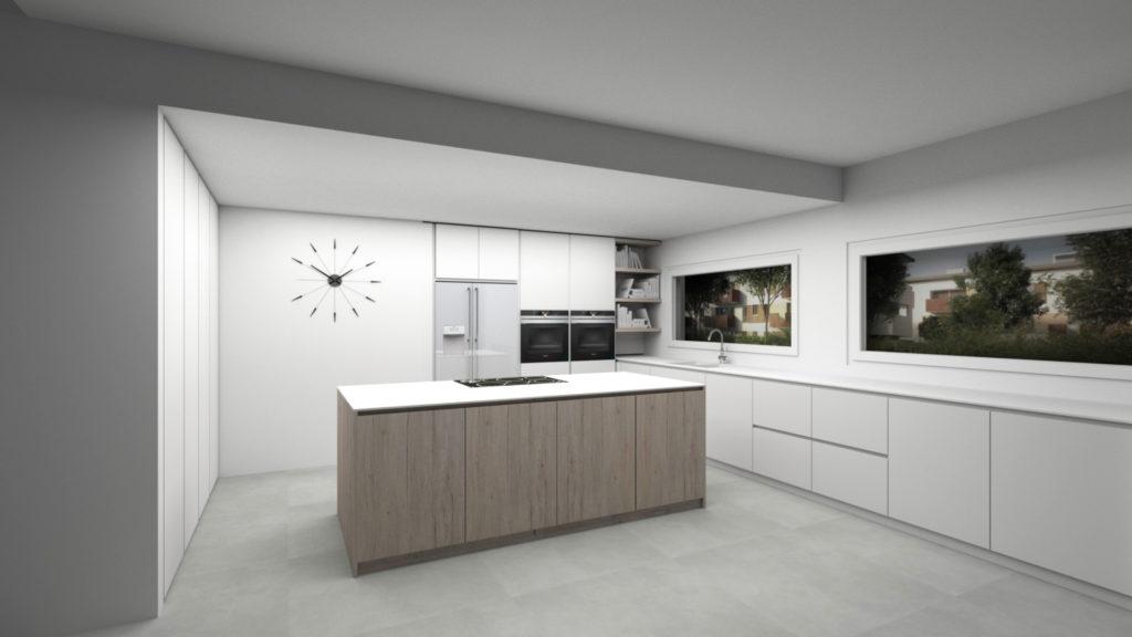 Rendering-cucina-salotto-design-iStyle